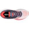 saucony Ride 10 Shoes Women White/Fog/Vizipro Red